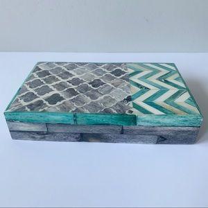 Shell printed box
